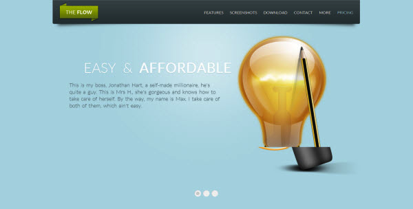 Landing Page Themes