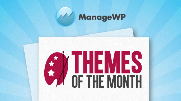 Top 5 Free WordPress Themes of the Month – July 2012 Edition