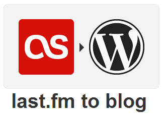 Lastfm to WordPress IFTTT Recipe
