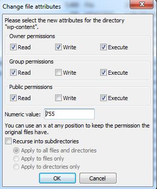 Setting Permissions