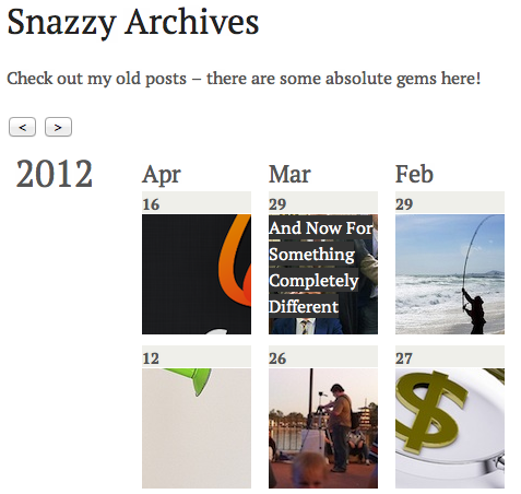 Snazzy Archives