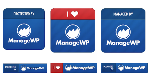 ManageWP Badges