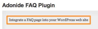 Plugin Description