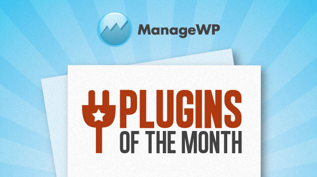 Top 10 WordPress Plugins of the Month – July 2012 Edition