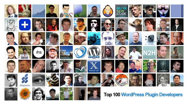 Top 100 WordPress Plugin Developers