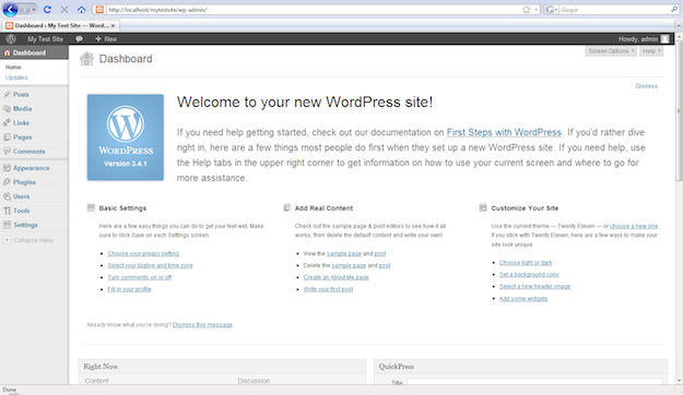 How To Create A Local Wordpress Website In Windows With Xampp Managewp