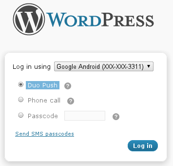 Add Strong Two-Factor Authentication To Your WordPress Login Form