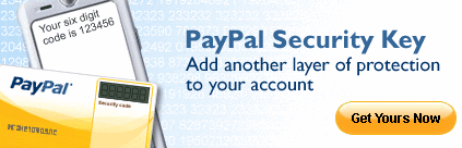 PayPal Security Key for added protection.