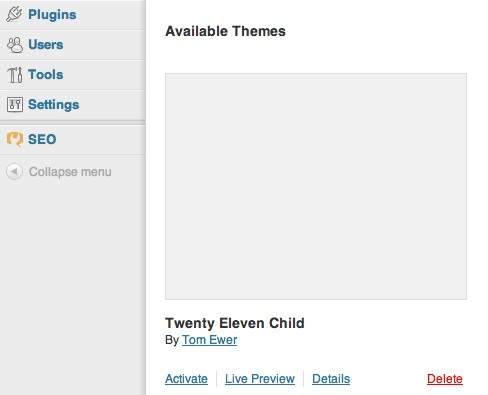 How to Create a Child Theme in WordPress - ManageWP