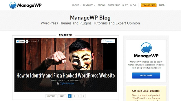 New ManageWP Blog Design