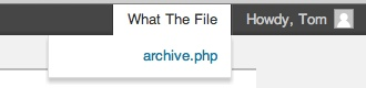 What The File