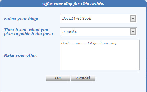 Offer Your Blog to Publish a Guest Post - MyBlogGuest