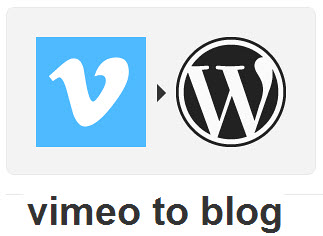 Vimeo to WordPress IFTTT Recipe