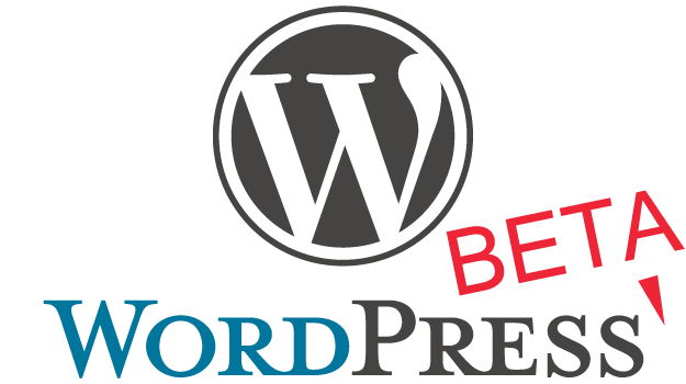 WordPress Beta