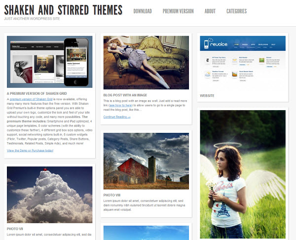 Skaken Grid Lite Free WordPress Theme