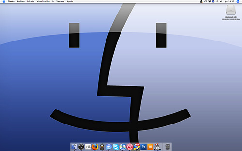 The Mac Desktop - Finder Face