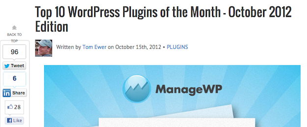 Plugins of the Month