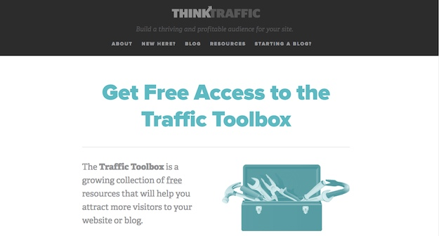 Think Traffic Traffic Toolbox screenshot