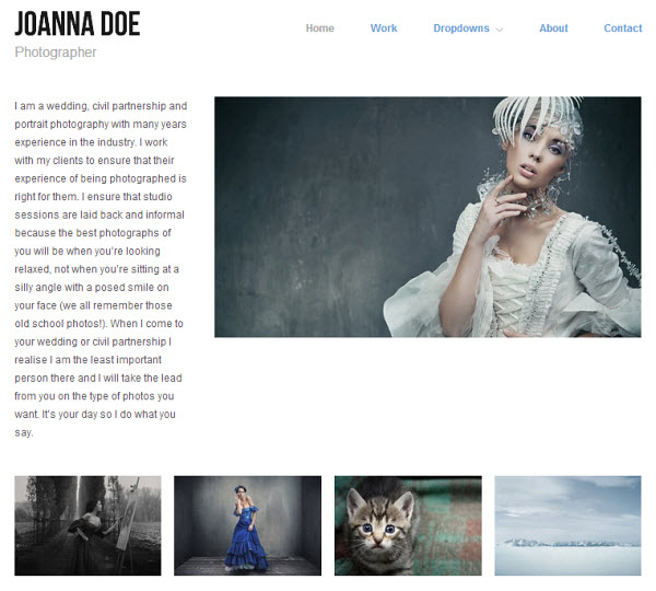 Hatch Portfolio WordPress Theme