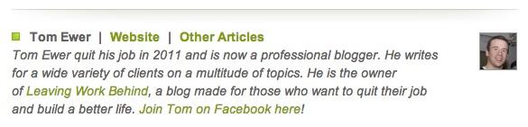 Guest blog byline