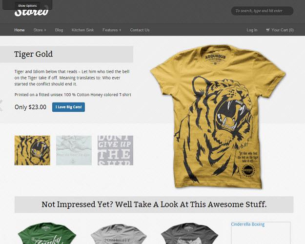 Stored eCommerce WordPress Theme