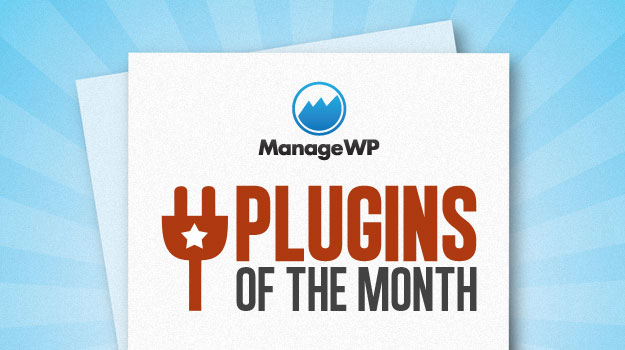 Plugins of the month logo.