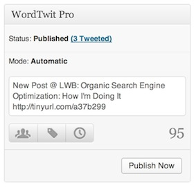 WordTwit Pro Widget