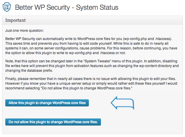 Better WP Security 2