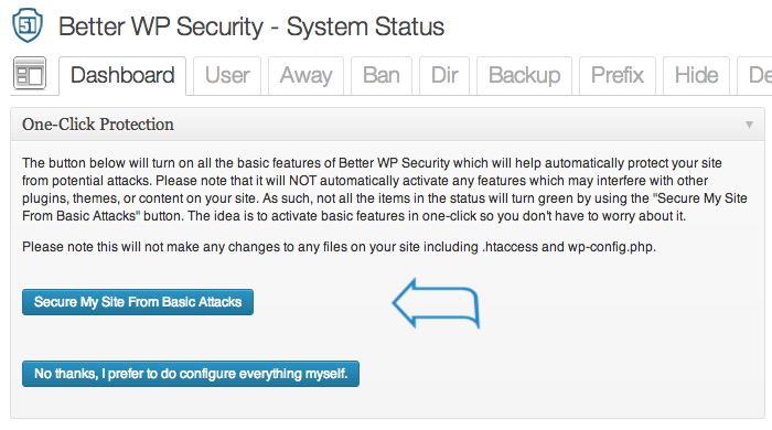 Better WP Security 3