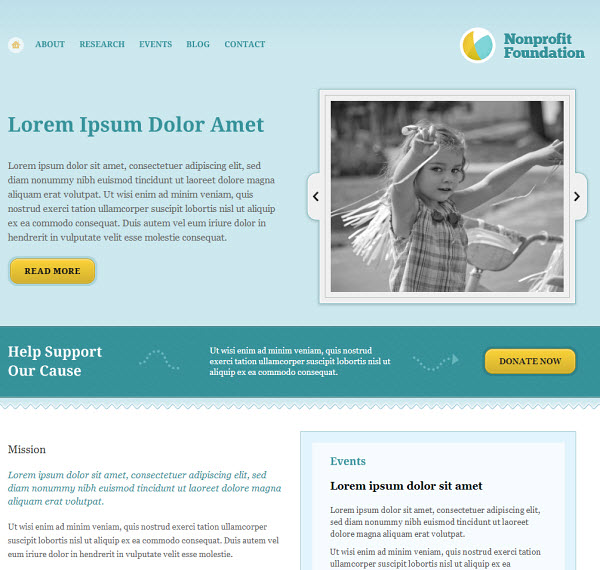 Foundation WordPress Theme