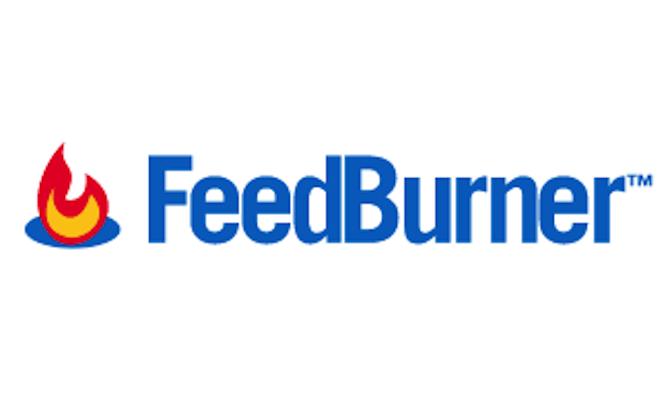 Feedburner logo.