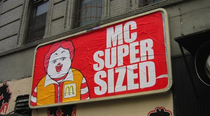 McDonalds Parody Poster