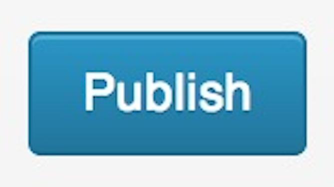 Publish button.