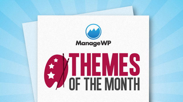 Themes of the month logo.
