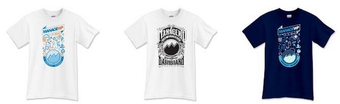 ManageWP T-Shirts