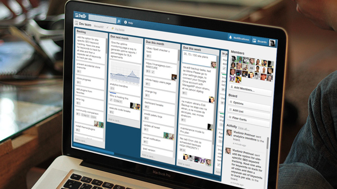 Trello screen