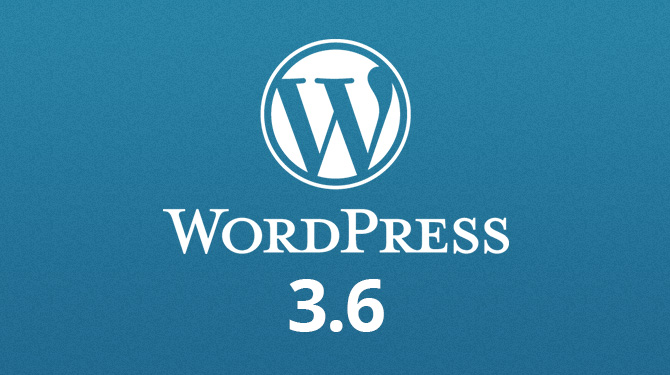 WordPress 3.6