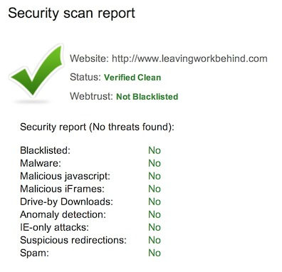 Security Scan Report