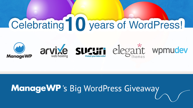 WordPress' 10th Birthday Competition