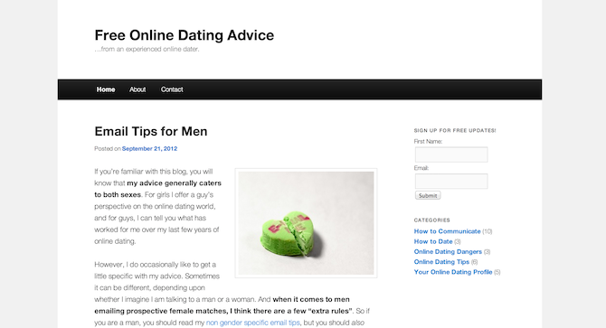 How manage online dating
