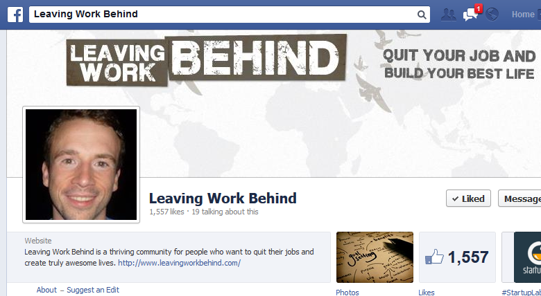 leaving-work-behind-facebook-page