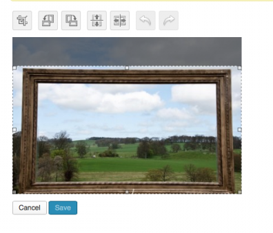 cropping photos in wordpress