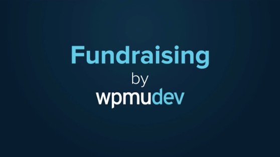 fundraising by wpmu dev