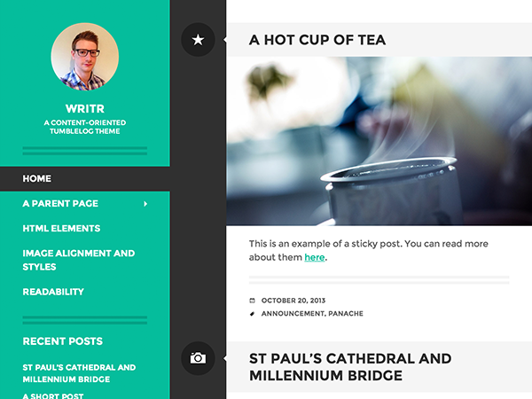 Top 5 Free WordPress Themes of the Month — January 2014 Edition ...