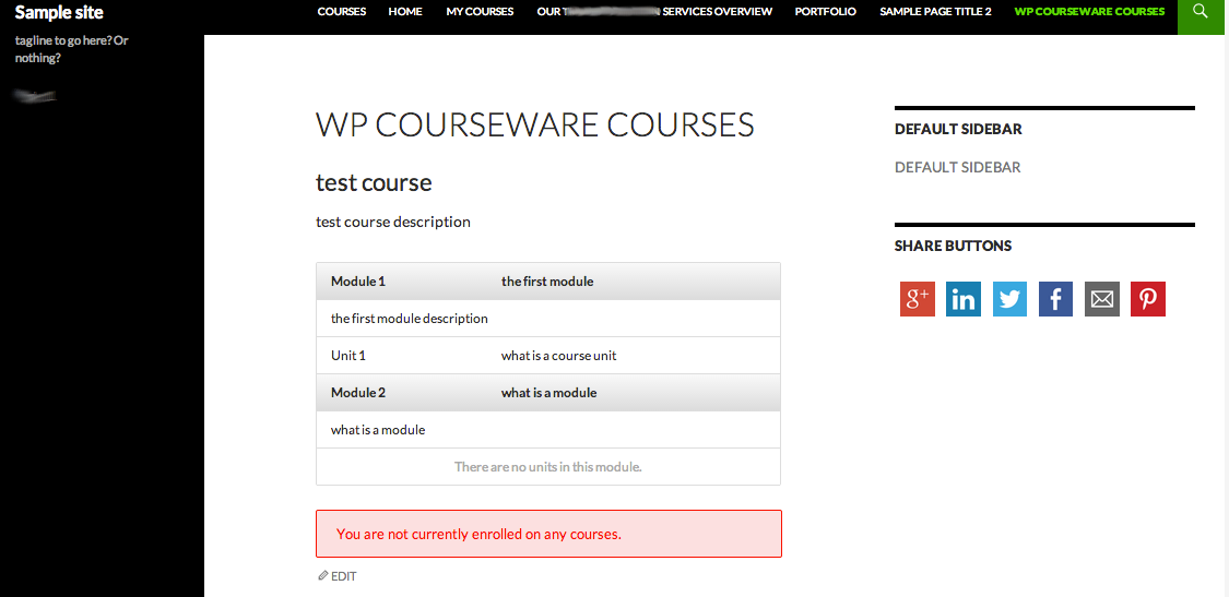 wp-courseware-shortcode-display
