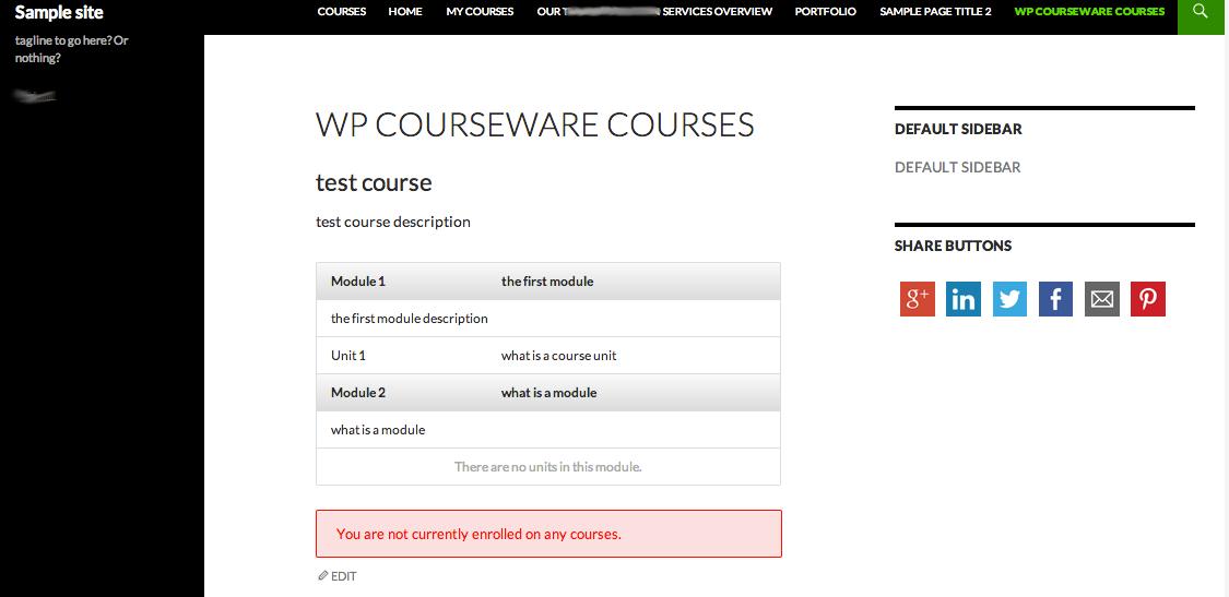 wp-courseware-shortcode-display