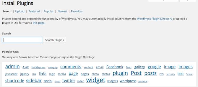Plugins Page Updates