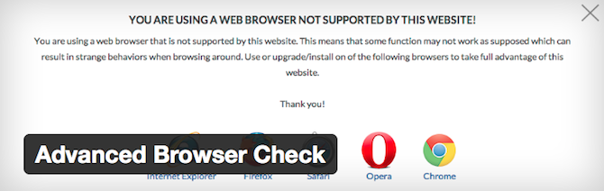Advanced Browser Check