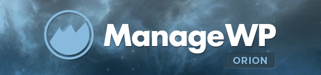 ManageWP Orion logo