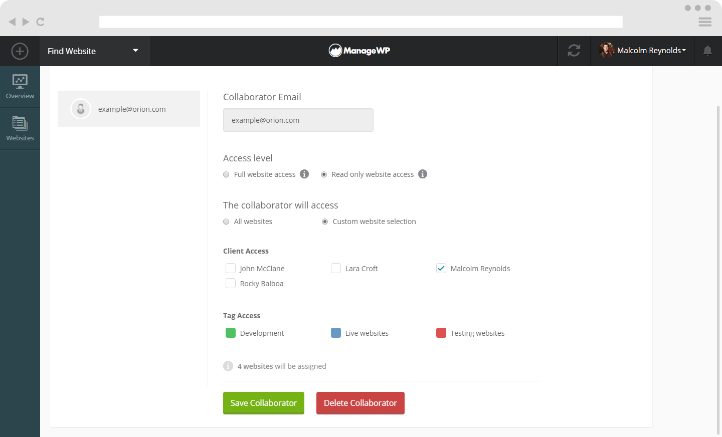 Collaborate tool